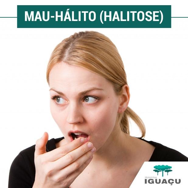 Mau-hálito (halitose)