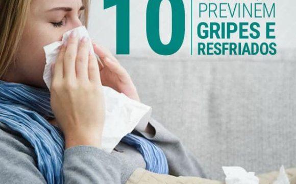 Dez hábitos que previnem gripes e resfriados