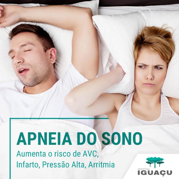 Apneia do Sono: você sabia que a apneia aumenta o risco de AVC, infarto, pressão alta e outras doenças?